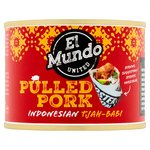 El Mundo United Pulled Pork Indonesian Tjah Babi