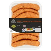 Morrisons The Best Tomato & Mozzarella Chipolatas