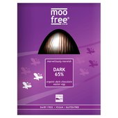 Moo Free Organic 65% Dark Chocolate Egg