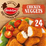 Birds Eye 24 Chicken Nuggets With Golden Wholegrain