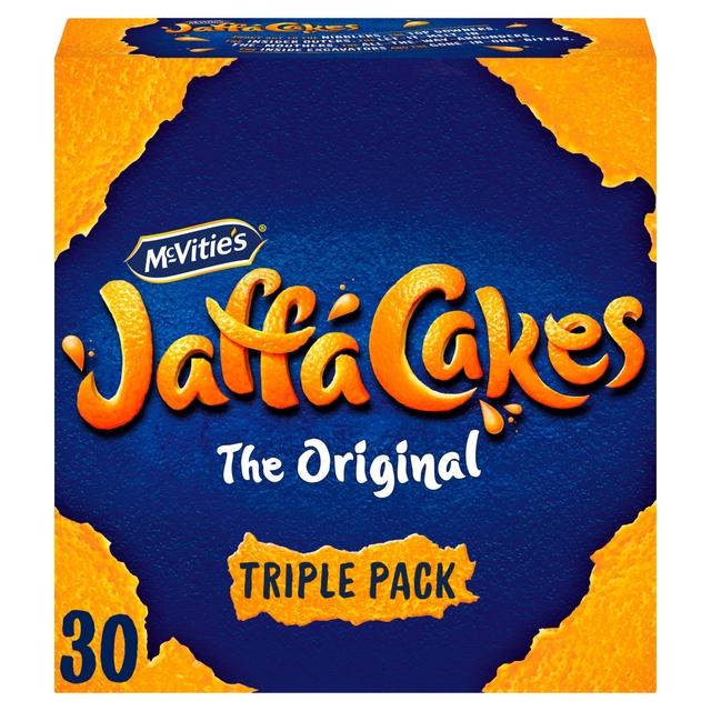 Mc Vities Jaffa Cakes The Original 30 Cakes Triple Pack