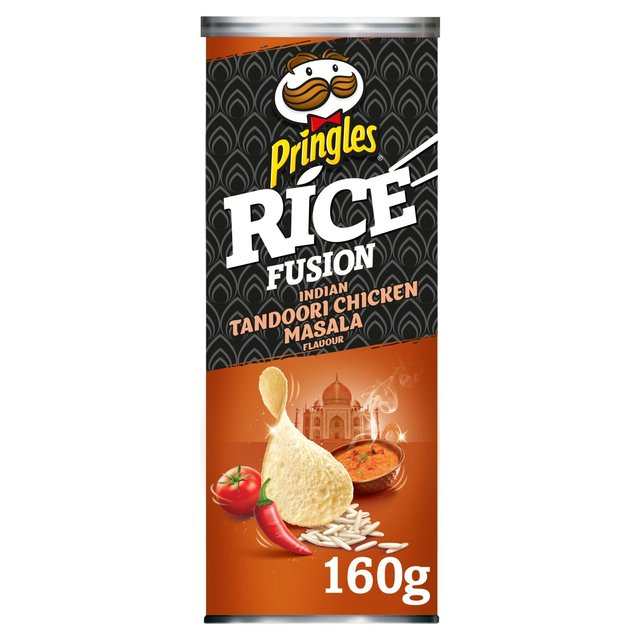 Pringles Rice Fusion Indian Tandoori Chicken Masala Flavour