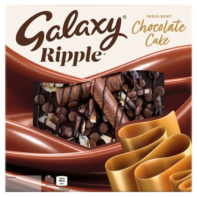 Morrisons Galaxy Ripple Cake Product Information