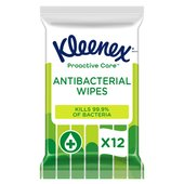 Kleenex Water Fresh Wipes Antibacterial