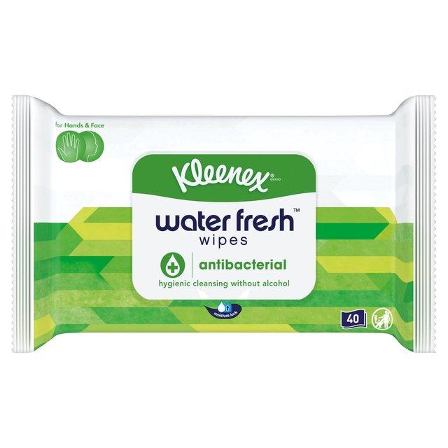 Kleenex Antibacterial Water Wipes