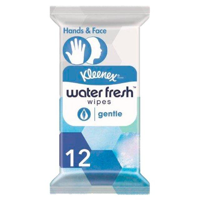 Kleenex Water Fresh Wipes Gentle Wipes