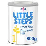 Little Steps First Infant Milk 1 From Birth 800g