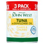 John West Sandwich Tuna In Sunflower Oil