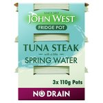 John West No Drain Tuna Steak In Spring Water