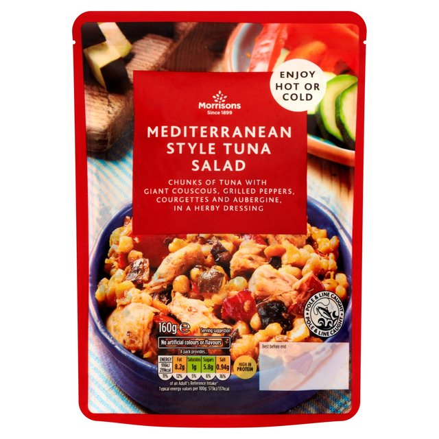 Morrisons Tuna & Mediterranean Vegetables Meal