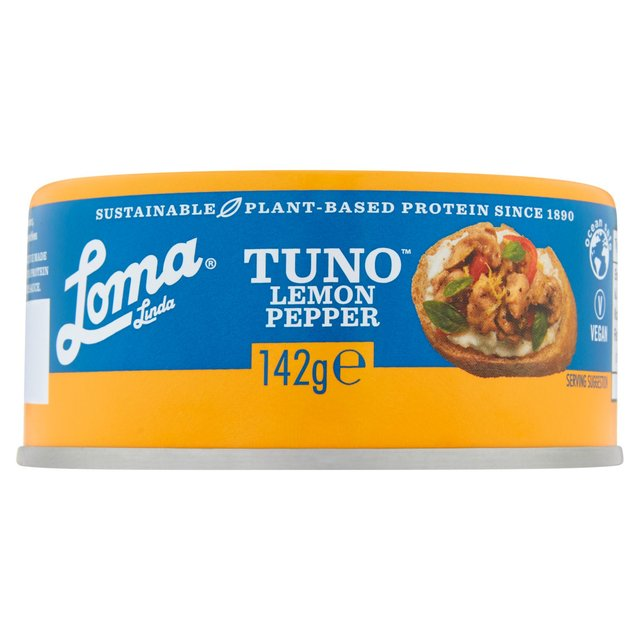 Loma Linda Fishless Tuna Lemon Pepper