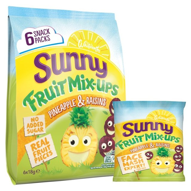 Sunny Fruit Mix - Ups Pineapple & Raisins