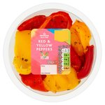 Morrisons Marinated Red & Yellow Peppers