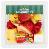Morrisons Strawberry, Mango, Raspberry & Apple