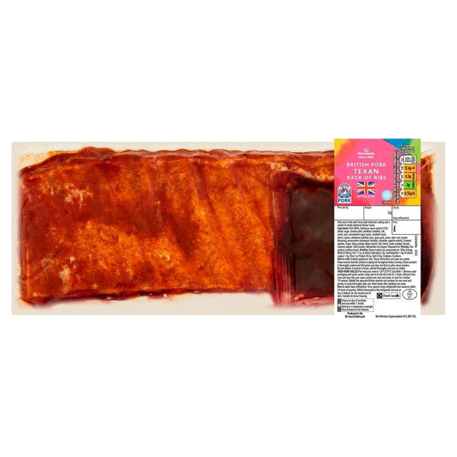 Morrisons Pork Rack With Texan Smoky Bbq Sauce