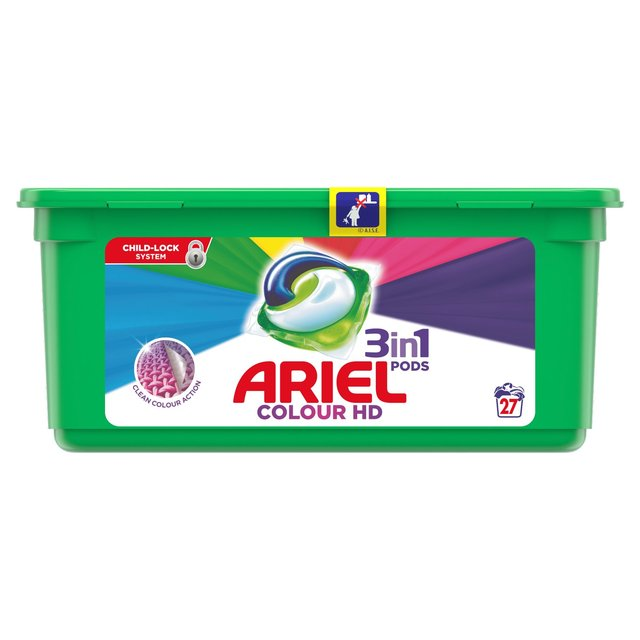 Morrisons: Ariel 3In1 Pods Colour & Style Washing Liquid