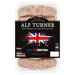 Alf Turner 'Best Of British' 6 Premium Pork Sausages