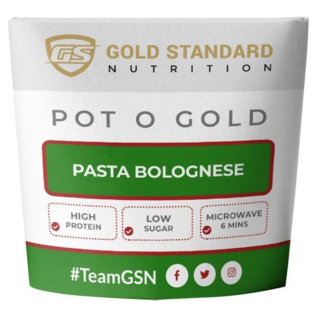 Gold Standard Nutrition Pot O Gold Pasta Bolognese
