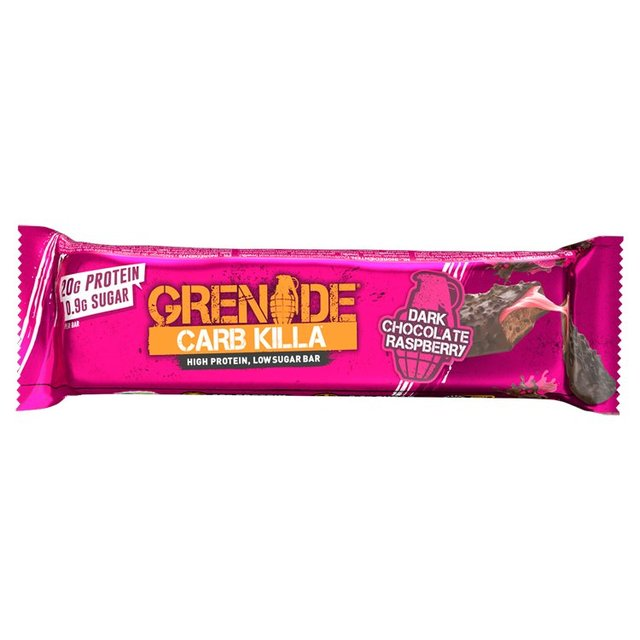 Grenade Carb Killa High Protein Bar Dark Chocolate Raspberry