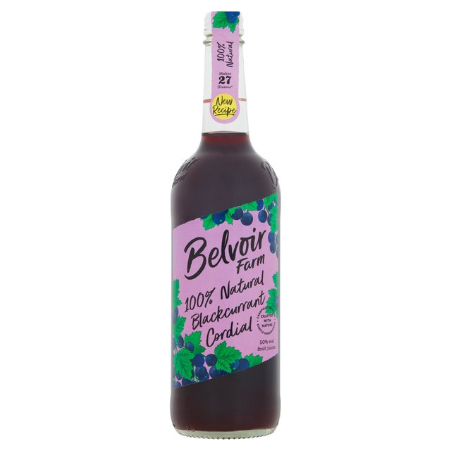 Belvoir Fruit Farms Natural Blackcurrant Cordial