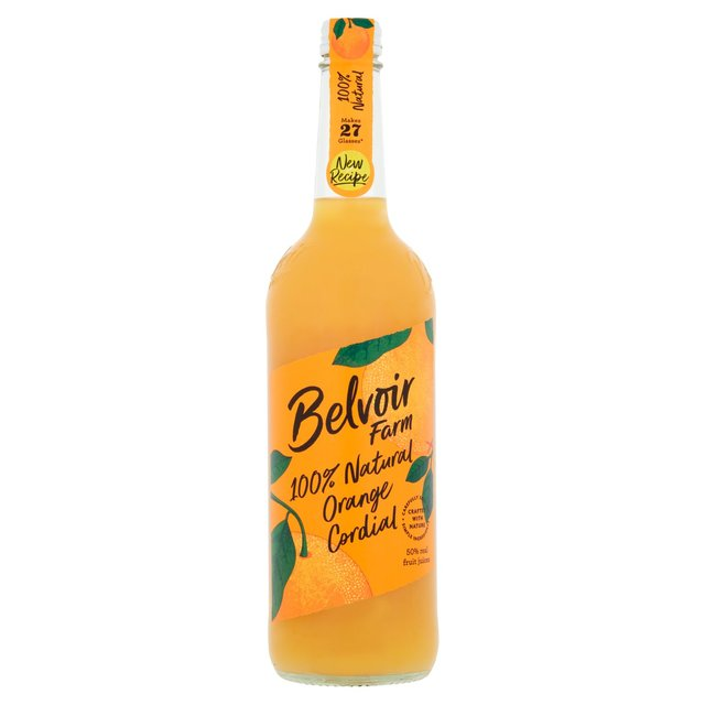 Belvoir Fruit Farms Natural Orange Cordial