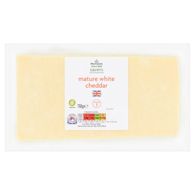 Morrisons Savers Mature White Cheddar