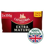 Cathedral City Extra Mature Cheese Twin Pack