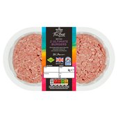 Morrisons The Best 2 British Beef & Bone Marrow Burgers