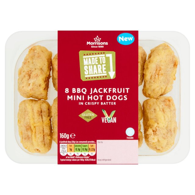 Morrisons Made To Share Mini Vegan Jack Dogs