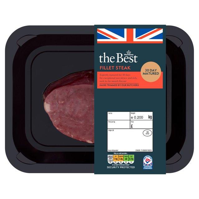 Morrisons The Best Fillet Steak