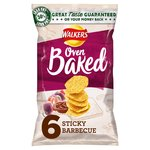 Walkers Baked Sticky Barbecue Snacks