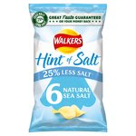 Walkers Hint Of Salt Natural Sea Salt