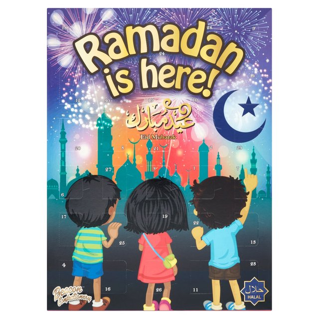 Chocolate Advent Calendar 2019.Morrisons Beacon Eid Ramadan Countdown Chocolate Calendar 100g