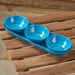 Morrisons Crackle Snack Tray Teal