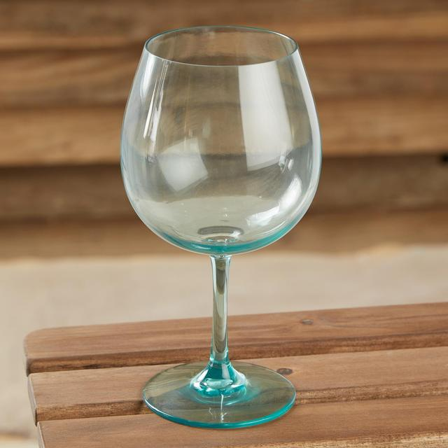 Morrisons Tinted Plastic Gin Glass