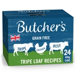 Butcher's Tripe Loaf Recipes Dog Food Tins 24x400g