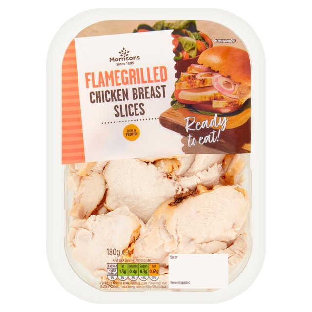 Morrisons Ready To Eat Flame - Grilled Chicken Slices