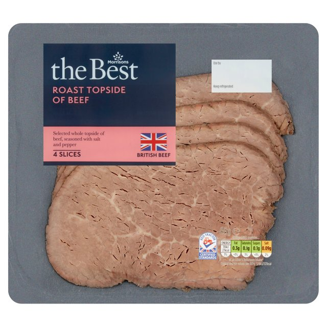 Morrisons The Best Topside Beef