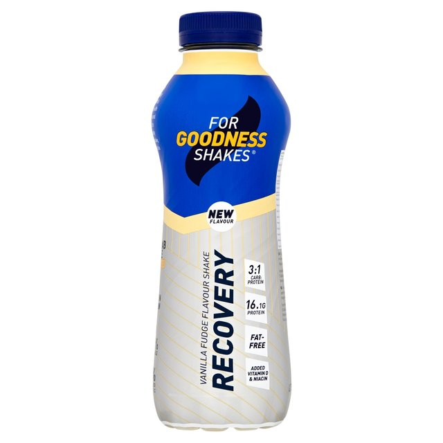 For Goodness Shakes Recovery Shake Vanilla Flavour