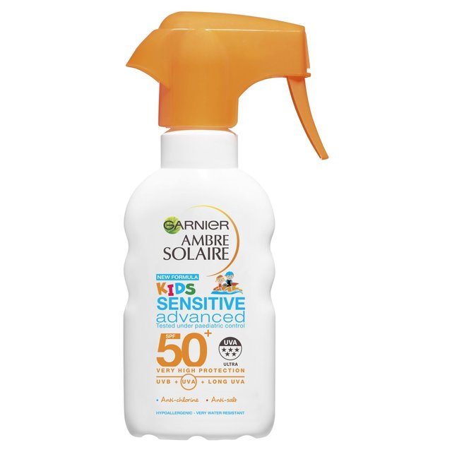 Garnier Ambre Solaire Kids Sensitive S P F 50+