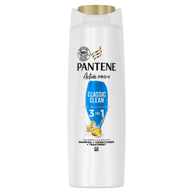Pantene Pro-V Classic Clean 3in1 Shampoo + Conditioner + Treatment