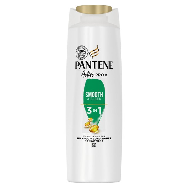 Pantene Pro-V Smooth & Sleek 3in1 Shampoo + Conditioner +Treatment