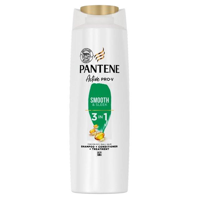 Pantene Pro-V Smooth & Sleek 3in1 Shampoo + Conditioner +Treatment