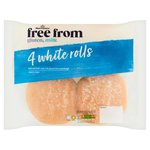 Morrisons Free From White Rolls