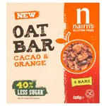 Nairns Oat Bar Cacao & Orange Bars