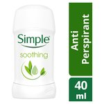 Simple Soothing Anti - Perspirant Stick