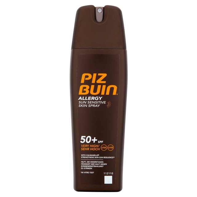 Piz Buin Allergy Sun Sensitive Skin Spray Spf 50+