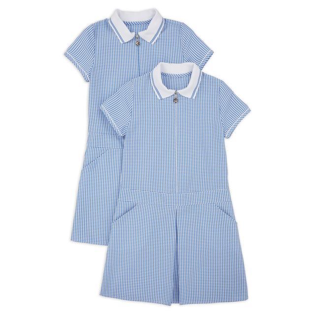 NUTMEG BLUE SPORTY DRESS 2PK 12-13 Years