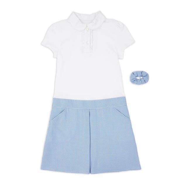 NUTMEG BLUE DRESS 6-7 Years