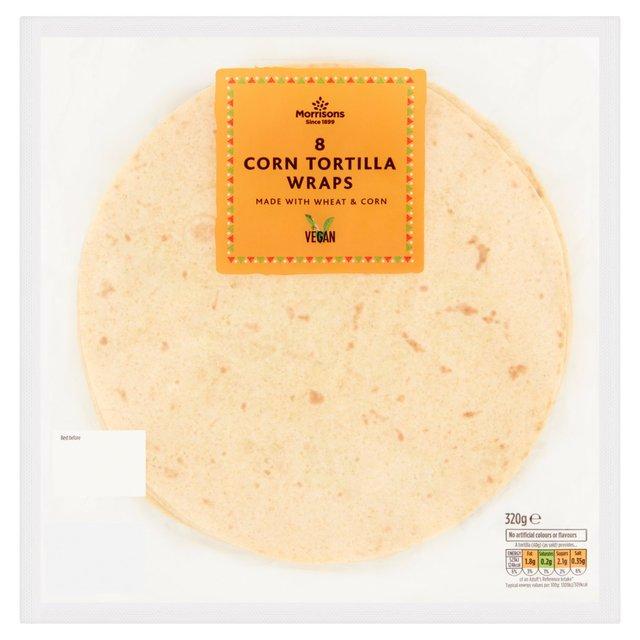 Morrisons Corn Tortilla Wraps Morrisons